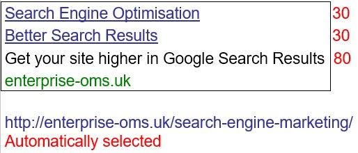 New Google Ad