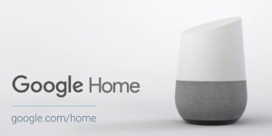 "Google Home with ""OK Google"""